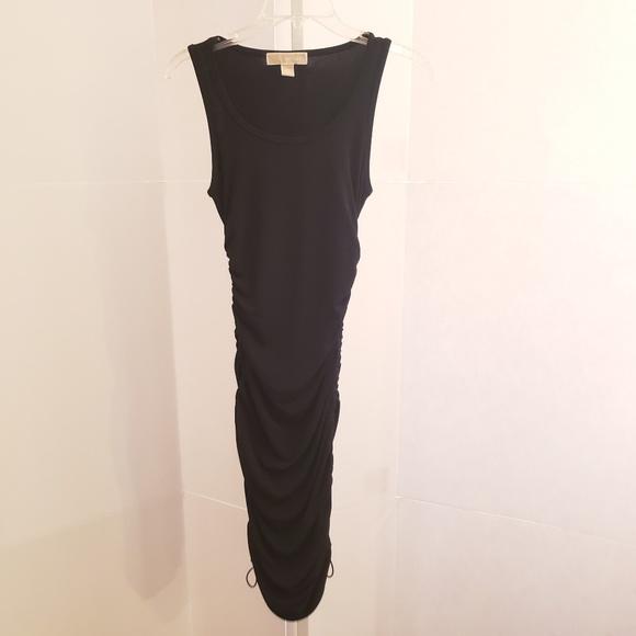 MICHAEL Michael Kors Dresses & Skirts - MICHAEL Michael Kors black scrunch sides dress XS